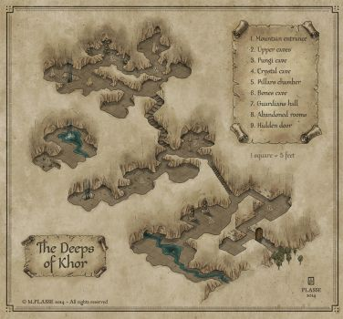 The Deeps of Khor by MaximePLASSE