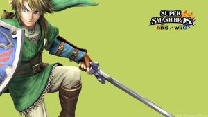 Link | Wallpaper| Super Smash Bros. Wii U/3DS by Gibarrar