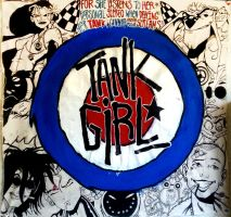A Homage to Tank Girl by TomikoArt