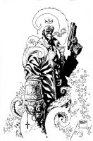 Hellboy by MicahJGunnell