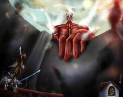 Attack On Trost by Bella-Eis