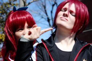 FREE! Siblings: Matsuoka Rin and Gou by Kyamirin