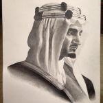 Young King Faisal by Raadalsharif