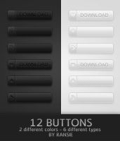 Web Buttons 04 by Ransie3