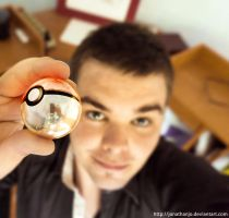 This is me and my pokeball by Jonathanjo