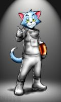 Galactical Cat by Erkaz