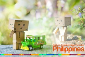 Danbo in Philippines by inzanenewbie