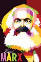 Karl Marx in WPAP by duniaonme