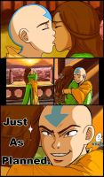 ATLA+DN: Aang gets the girl by genaminna