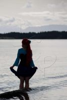 Ariel Silhouette by mai-nightmare