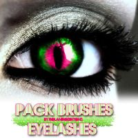 Eyelashes BRUSHES by RolandoEditions