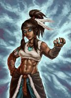 Avatar Korra by PaleLonginus