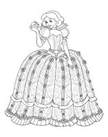 Snow White as Scarlet Overkill - Lineart by Paola-Tosca