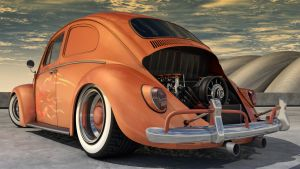 1966 Volkswagen Bug by SamCurry