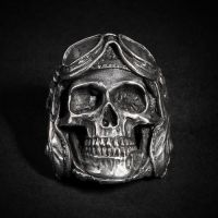 Aeronaut Skull Ring by fourspeedindonesia