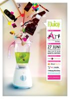 Poster New Juice by mesign