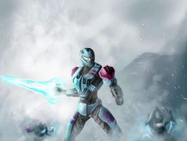 HALO Energy Sword Battle by jose144