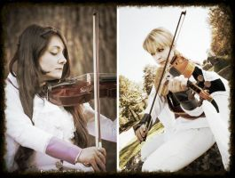We play together -APH Cosplay by mory-chan