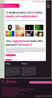 Z-Shine Journal CSS by CypherVisor