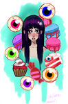 gorey sweet tooth by xDollyLlamax