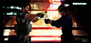 Let's Talk Man-To-Man by Captain-AlbertWesker