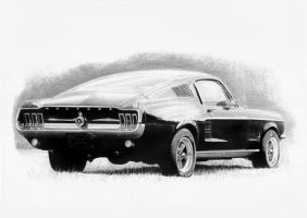 '67 Mustang fastback by Boss429