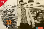 33 Adobe Photoshop Vintage Actions by C3CreativeSpace