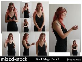 Black Magic Pack 6 by mizzd-stock