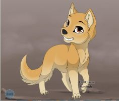 Nefferette: as a pup by mellzmew