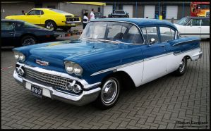 1958 Chevrolet Delray by compaan-art