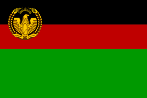 Flag of Afghanistan (19741978) by ShitAllOverHumanity