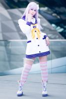 Nepgear Hyperdimension Neptunia mk2 Cosplay by K-I-M-I
