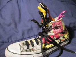 Oh no not my shoes by IncandescentInsanity