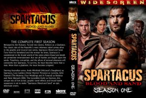 Spartacus DVD cover mock by stetsontalon