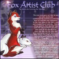 Fox Artist ID contest entry by lizspit