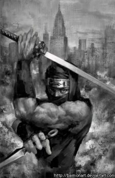 Ninja Gaiden by baimonart