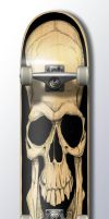 skull board by heckthor