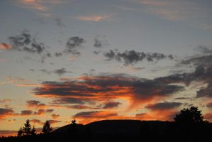 Very nice sunset by Cooad
