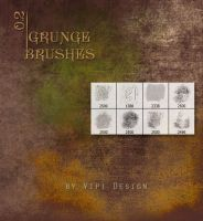 Grunge Brushes 0,2 by elixa-geg