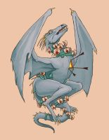 Dragon Tattoo by blindthistle