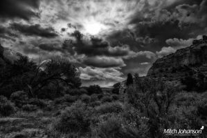 The Opening of Heaven BW by mjohanson
