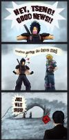 FF7 Zack and Cloud fateful meeting by Dragona15