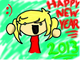 Happy 2013 by lollygagger1999