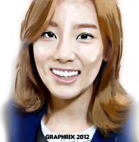 Taeyeon : Digital Painting by GraPHriX