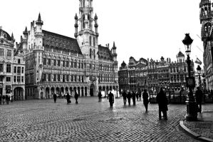 Grand Place by spectraum