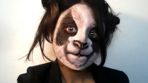 Makeup - Panda by L-Pwet