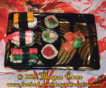 Realistic Sushi Holiday Christmas Ornaments 2 by MorganCrone
