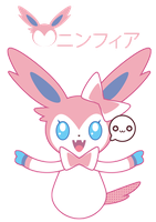 Ninfia/Sylveon for PurpleKecleon ::GIFT:: by Itachi-Roxas