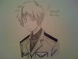 Hetalia from the anime Prussia by captonstu