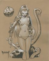 Moongirl by Dubisch